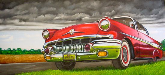 1957-chevy-auto-landscape-painting