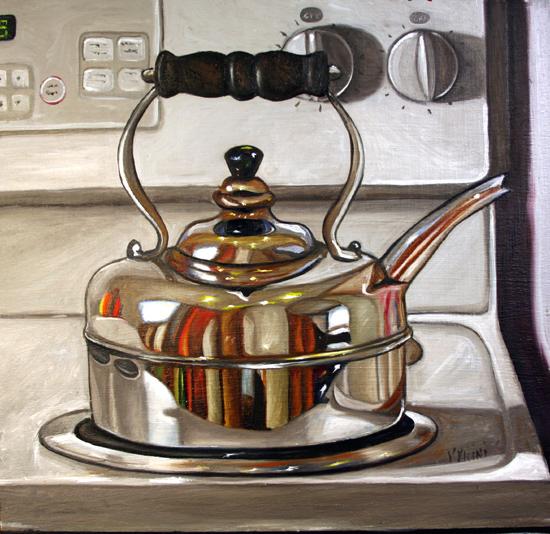 stove kitchenware teapot