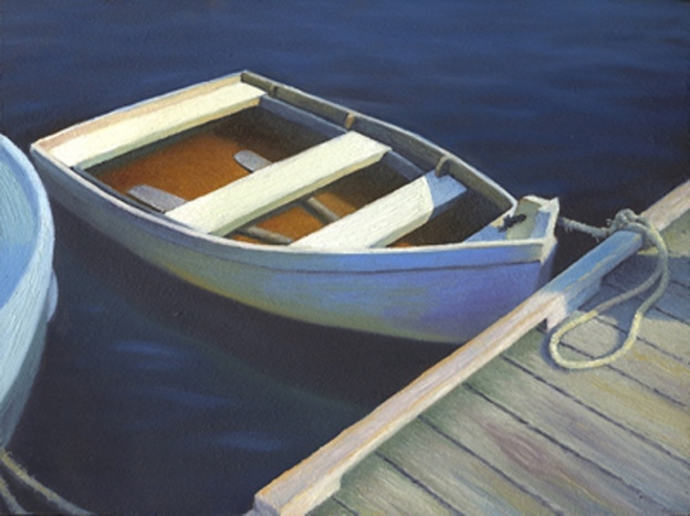boat white marine art