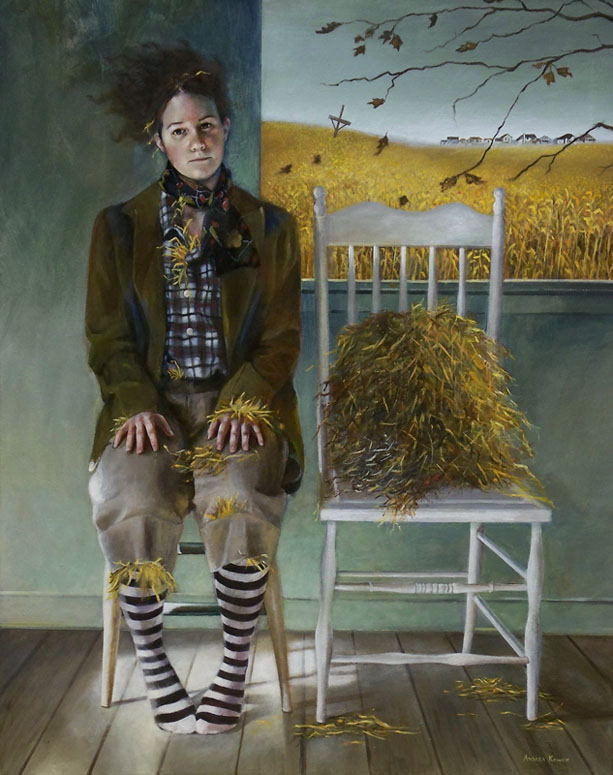Andrea Kowch Magical Realism And Real Problems Art Critique