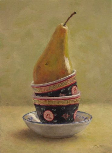 still-life-with-cups-and-yellow-pear