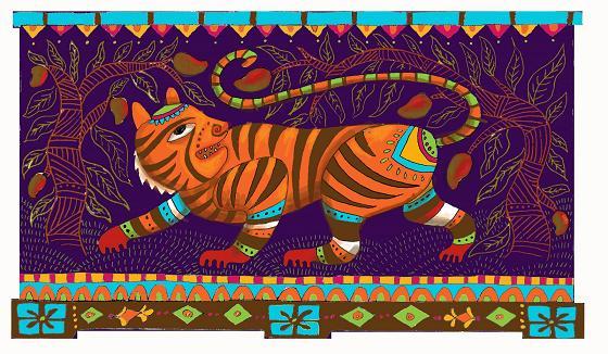 believe every artist should aspire to. tiger-jungle-trunk-furniture-art