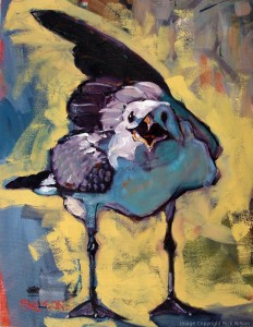 Oil on Canvas Bird