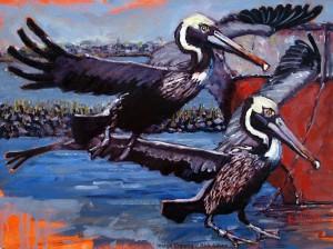 Oil on Canvas Sea Painting