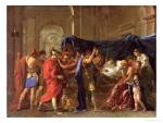 Nicolas Poussin: The Death of Germanicus
