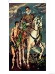 El Greco: Saint Martin and the Beggar