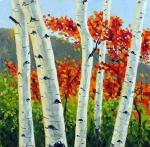 Takeyce Walter: Birches and Maples