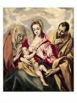 El Greco: The Holy Family (with Saint Anne)